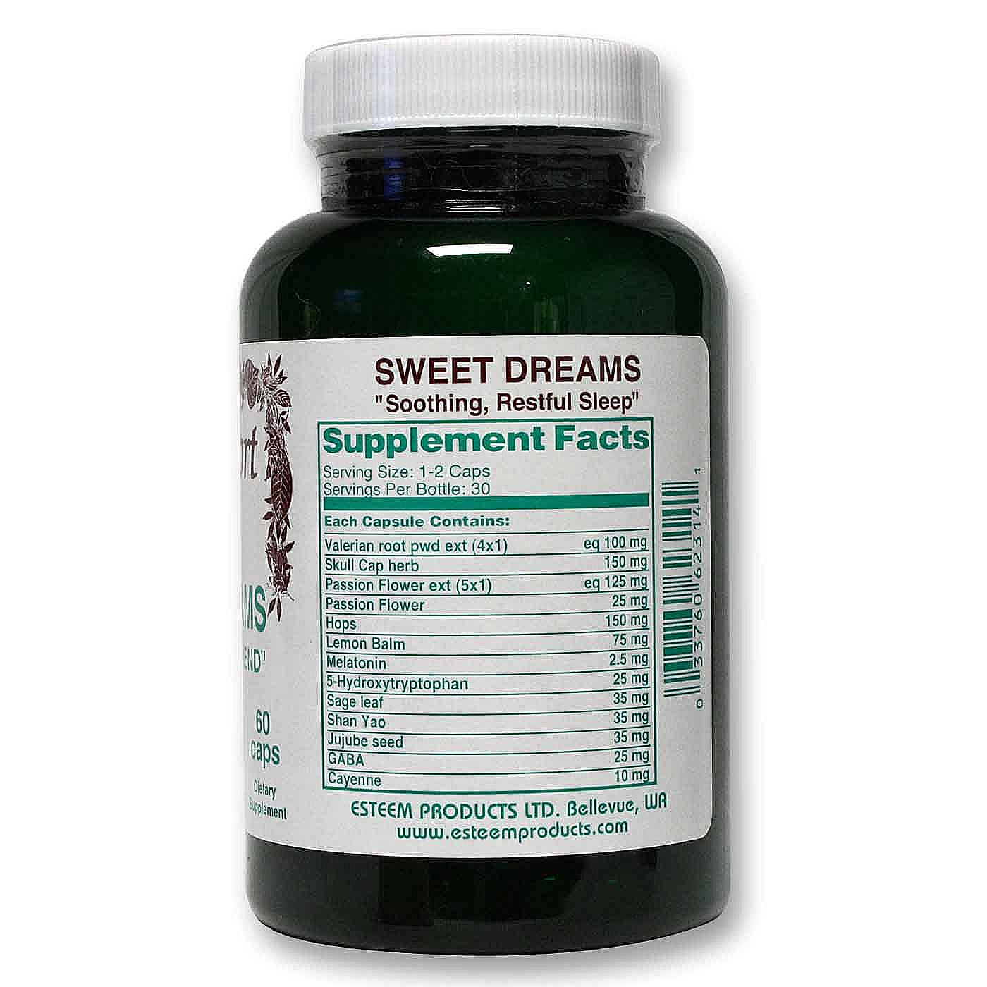 Esteem Sweet Dreams - 60 Capsules