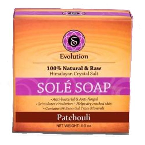 Evolution Salt Sole Soap Patchouli - 4.5 oz
