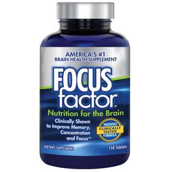 FOCUSfactor Brain Health Supplement