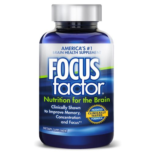 FOCUSfactor Brain Health Supplement - 180 Tablets - 312724_front.jpg
