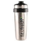 Fit and Fresh CleanTek Stainless Steel Shaker Cup