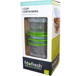Fit and Fresh 1 Cup Chill Containers