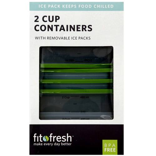 2 Cup Chill Containers