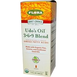 Flora Udo's 3-6-9 Oil Blend Liquid