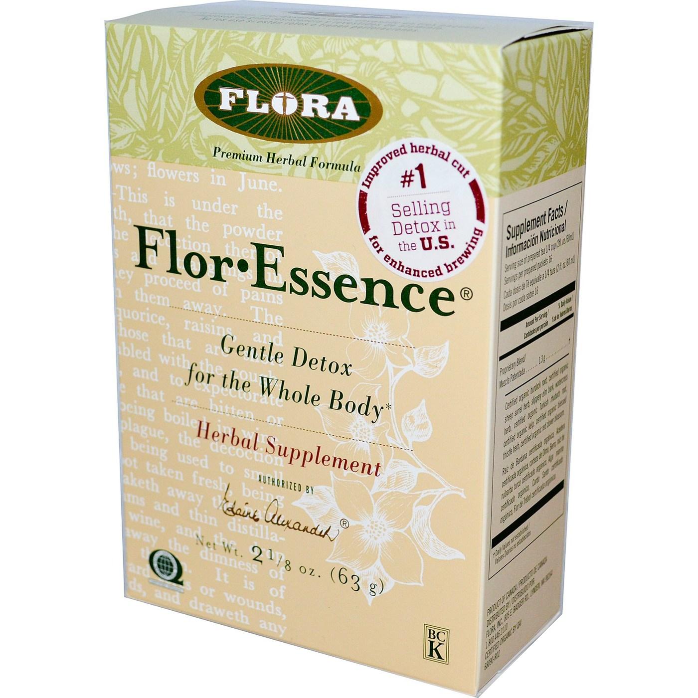 Flor essence detox tea reviews
