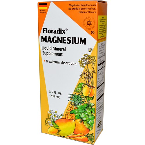 Floradix Magnesium Liquid Mineral Supplement