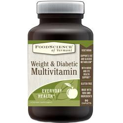 FoodScience of Vermont Weight and Diabetic Multivitamin