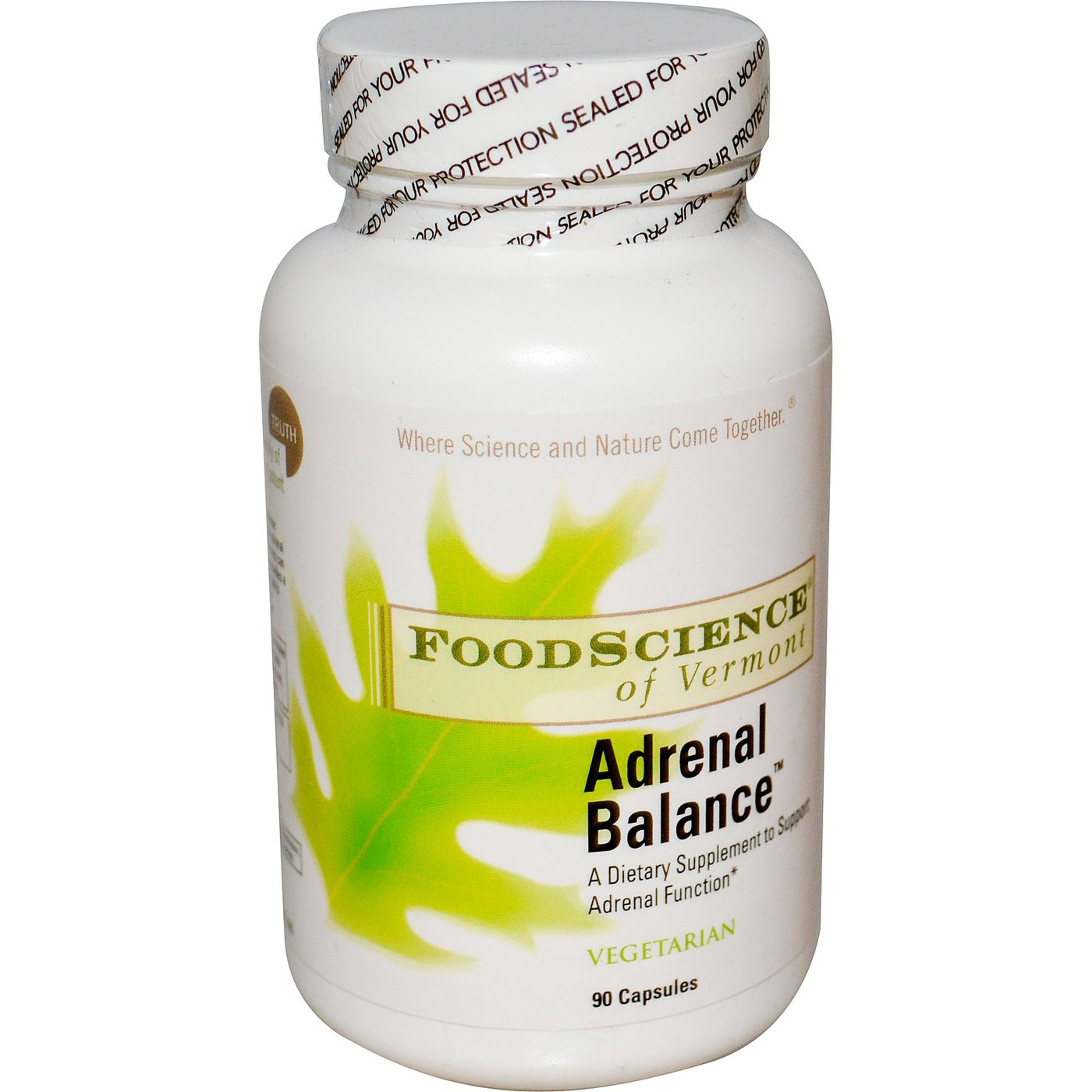 FoodScience of Vermont Adrenal Balance - 90 VCapsules