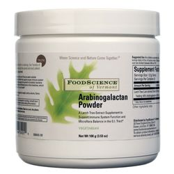 FoodScience of Vermont Arabinogalactan Powder