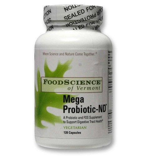 FoodScience of Vermont Mega Probiotic-ND - 120 VCapsules - 20120319_125.jpg