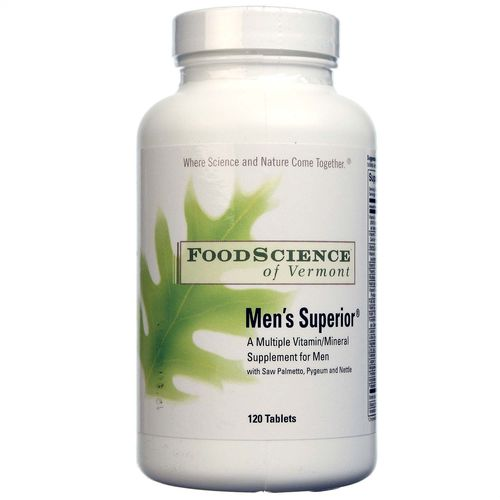 FoodScience of Vermont Men's Superior - 120 Tablets - 026664319616_1.jpg