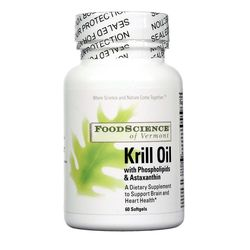 FoodScience of Vermont Krill Oil