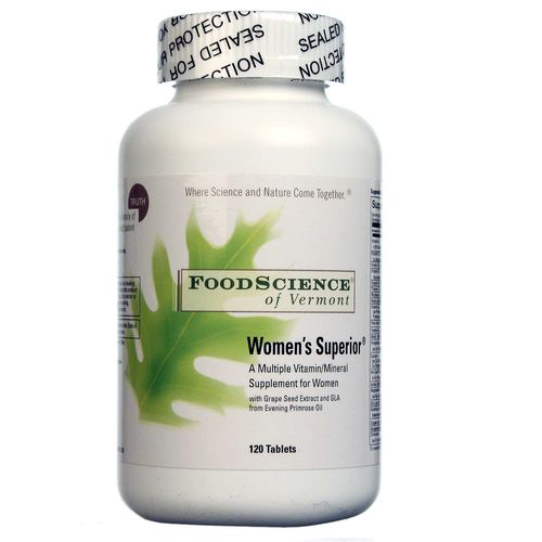 FoodScience of Vermont Women's Superior  - 120 Tablets - 026664319517_1.jpg