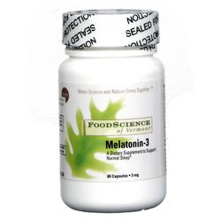 FoodScience of Vermont Melatonin-3