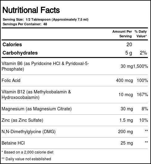 FoodScience of Vermont Behavior Balance - DMG Liquid Tropical Punch - 12 fl  oz