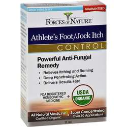Forces of Nature Athlete's FootJock Itch Control