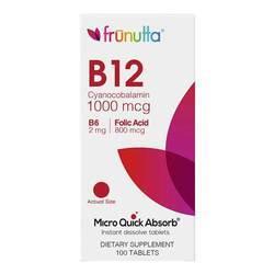 Frunutta Vitamin B12 1000 mcg