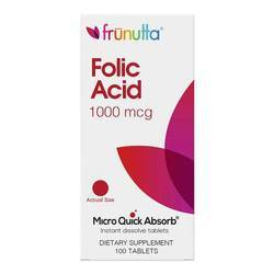 Frunutta Folic Acid 1000 mcg