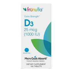 Frunutta Vitamin D3 25 mcg