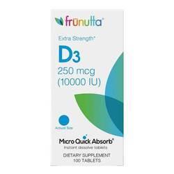 Frunutta Vitamin D3 250 mcg