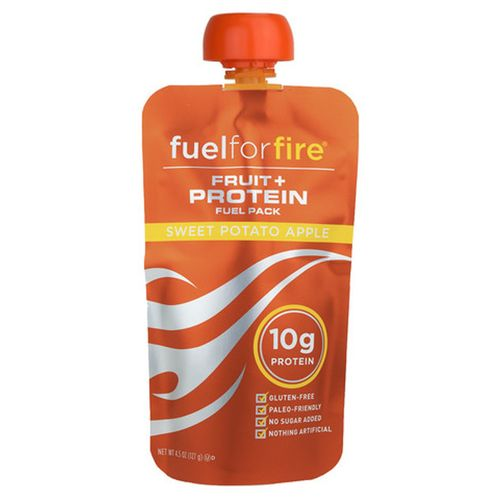 Fuel For Fire Fruit and Protein Fuel Pack Sweet Potato Apple - 6 - 4.5 oz Packs