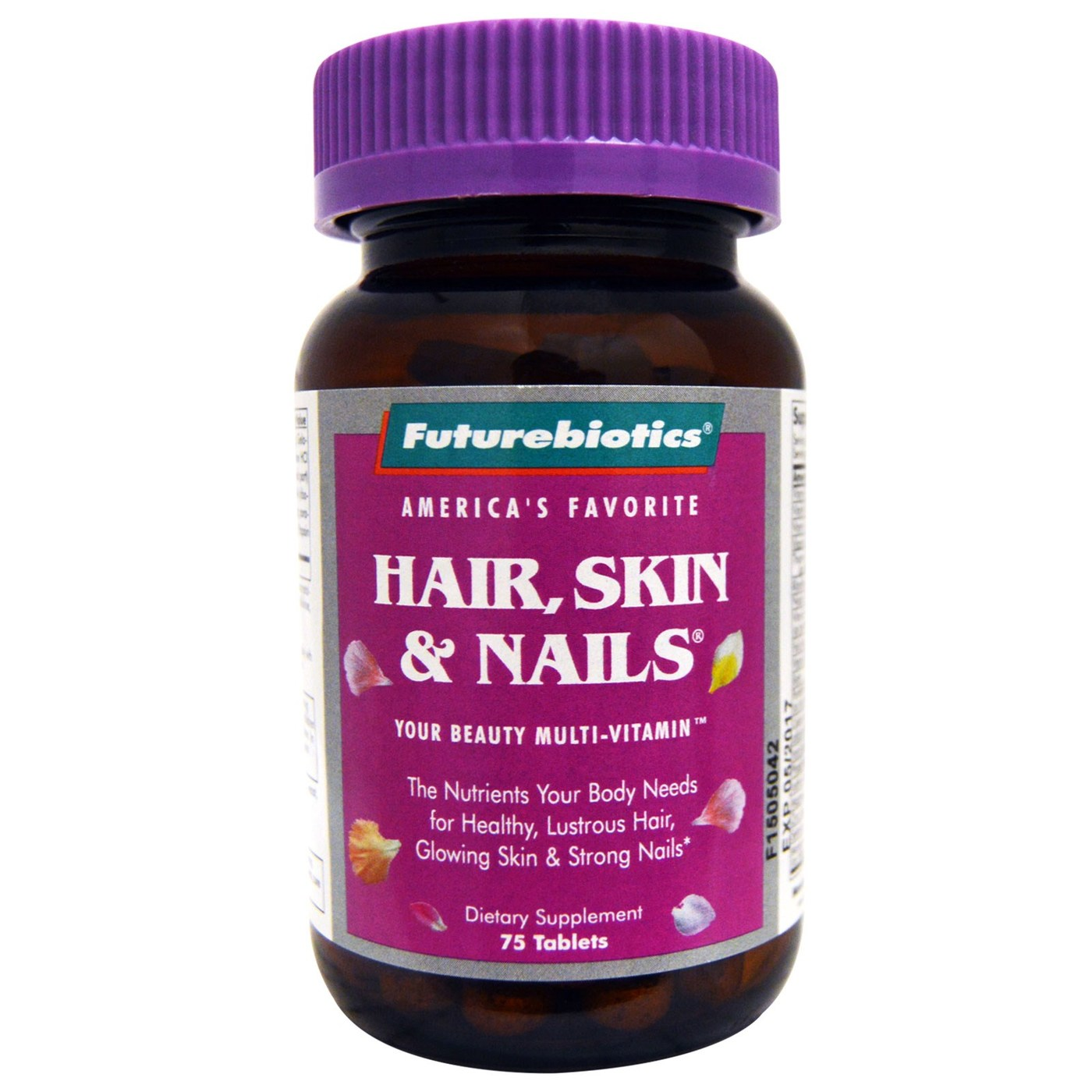 Futurebiotics Hair Skin Nails for Women - 75 Tablets - eVitamins.com