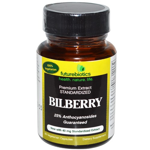Bilberry 40 mg
