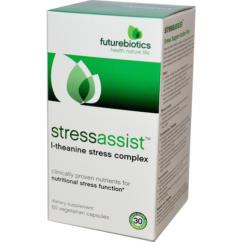 Futurebiotics Stressassist - 60 Capsules - 6063_01.jpg