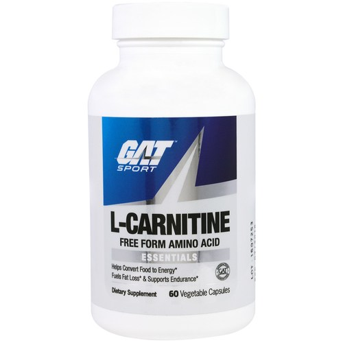 GAT L-Carnitine  - 500 mg - 60 Vegetable Capsules - 299952_01.jpg