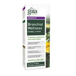 Gaia Herbs Bronchial Wellness Herbal Syrup