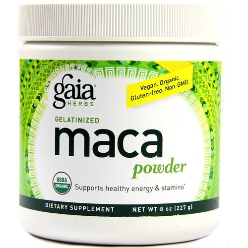 Gaia Herbs Maca Powder  - 8 oz  - 103076_1.jpg