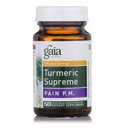 Gaia Herbs Turmeric Supreme Pain PM
