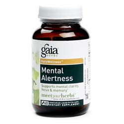 Gaia Herbs Mental Alertness