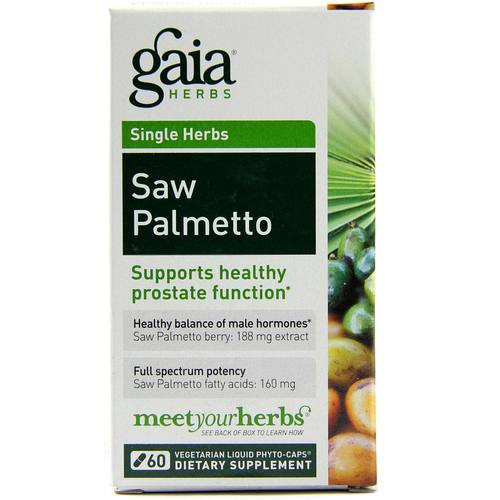 Gaia Herbs Saw Palmetto - 60 Vegetarian Liquid Phyto-Caps - 103131_1.jpg