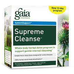 Gaia Herbs Supreme Cleanse Kit