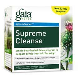 Gaia Herbs Supreme Cleanse Kit