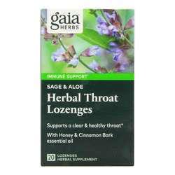 Gaia Herbs Herbal Throat Lozenges