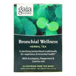 Gaia Herbs Bronchial Wellness Tea -