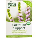 Gaia Herbs Lactation Support Tea - 16 Tea Bags