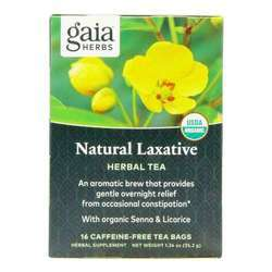 Gaia Herbs Natural Laxative Tea Caffeine-free