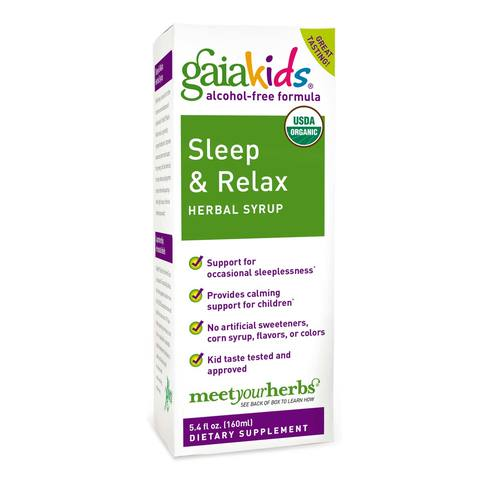 Kids Sleep and Relax Herbal Syrup