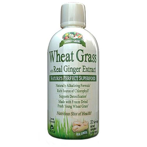 Wheat Grass with Real Ginger Extract