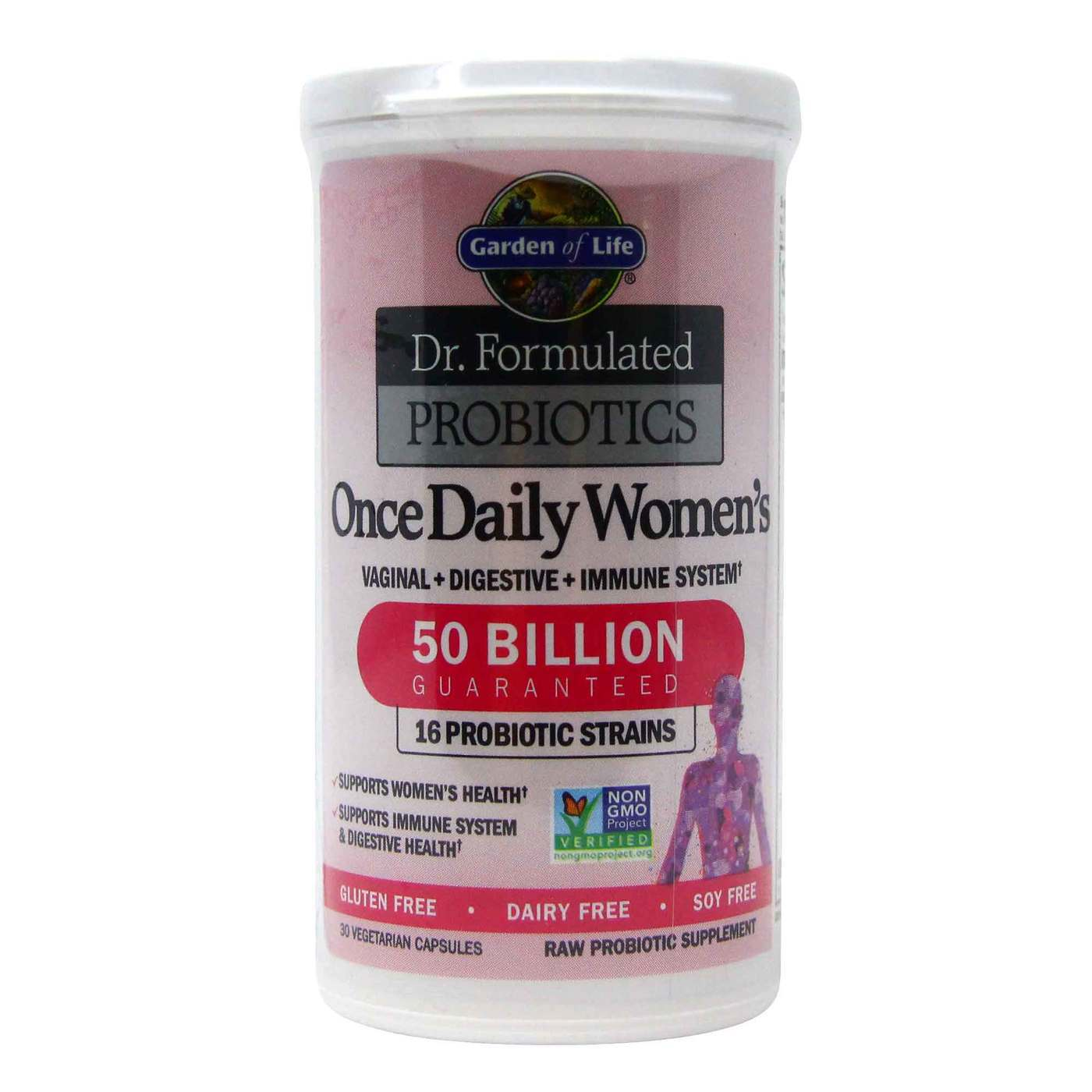 Garden Of Life Dr Formulated Probiotics Once Daily Women S 30 Vegetarian Capsules Evitamins Com