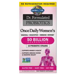 Garden of Life Dr. Formulated Probiotics Once Daily Women's  - 30 VCapsules