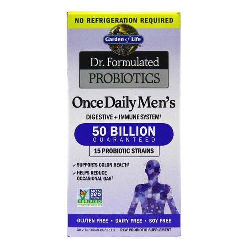 Garden of Life Dr. Formulated Probiotika Once Daily Men's - 30 VKapseln - 105127_front2020.jpg