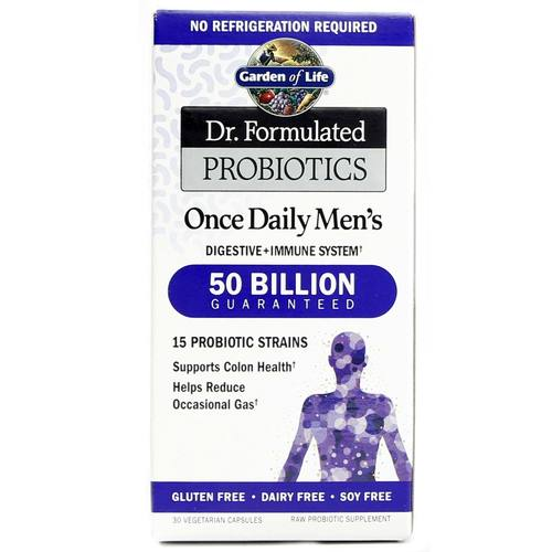 Dr. Formulated Probiotics Once Daily Men's
