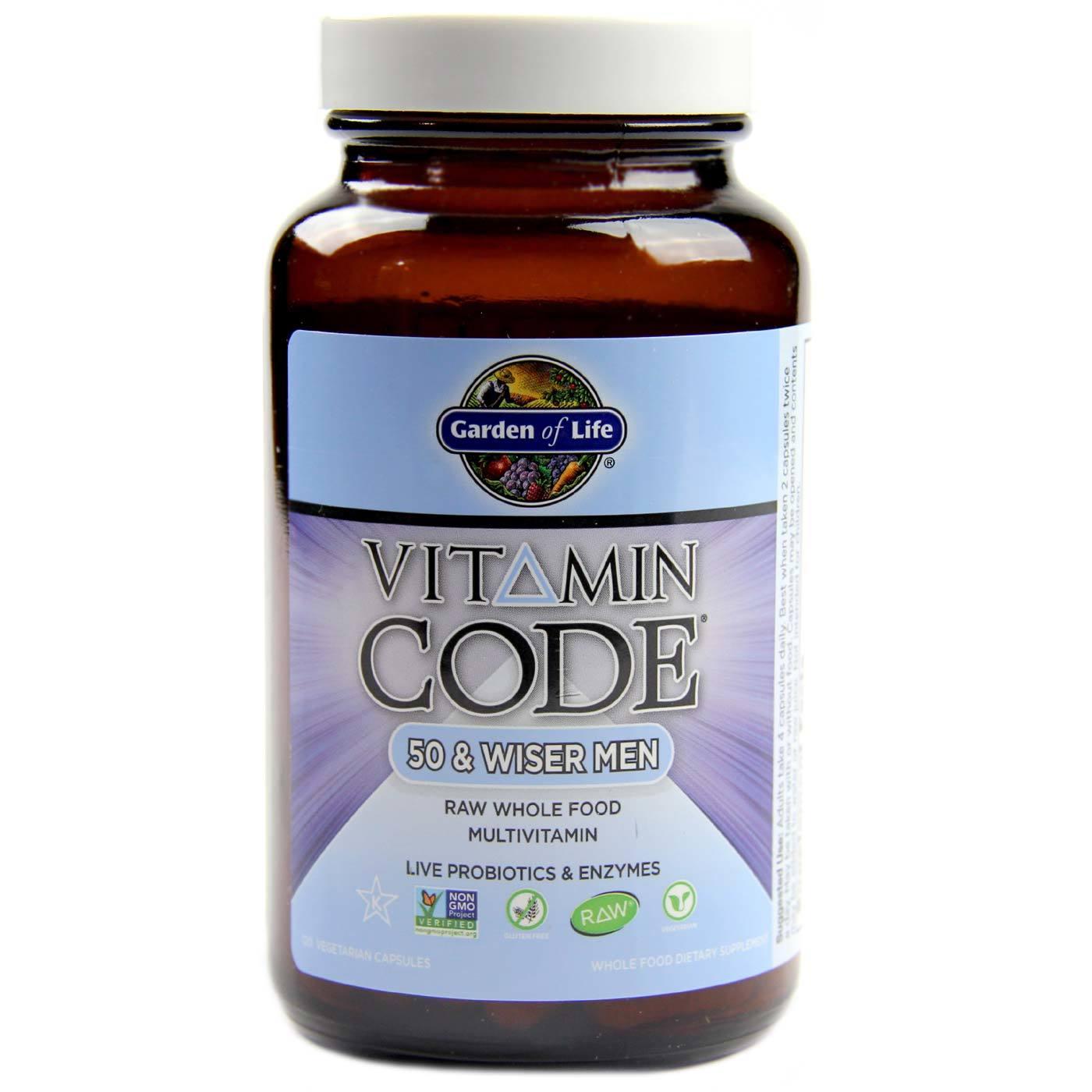 of organics evolution men capsules vitamin code garden life for