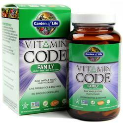 Garden of Life Vitamin Code Family
