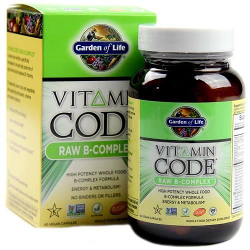 Buy garden of life vitamin code raw b complex 60 - Garden of life multivitamin review ...