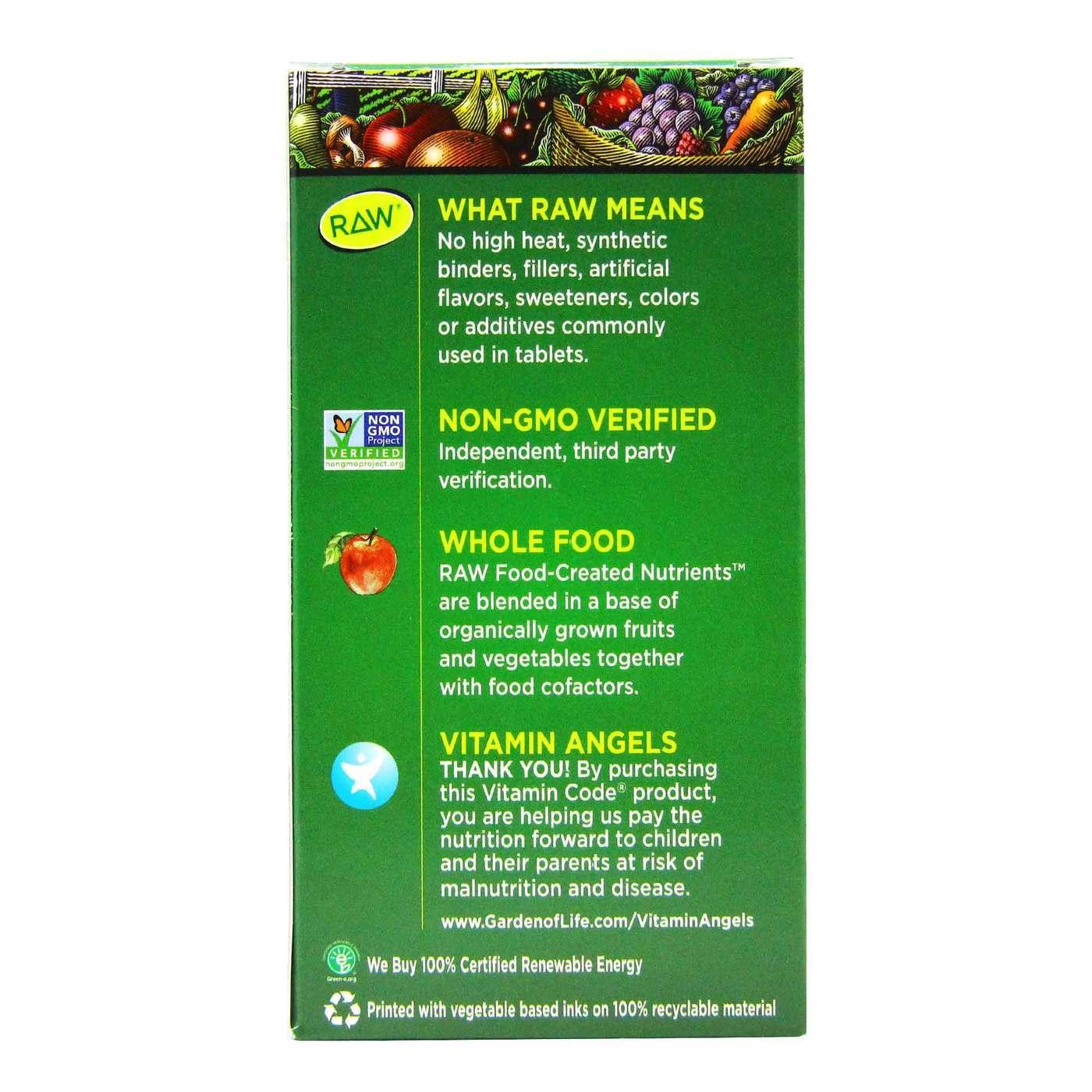 Garden Of Life Vitamin Code Raw Calcium 120 Vegetarian Capsules Evitamins Indonesia